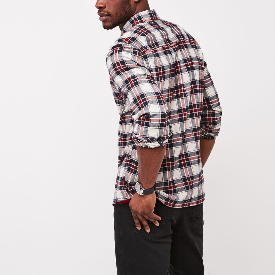 Roots-undefined-Burnaby Flannel Shirt-undefined-D