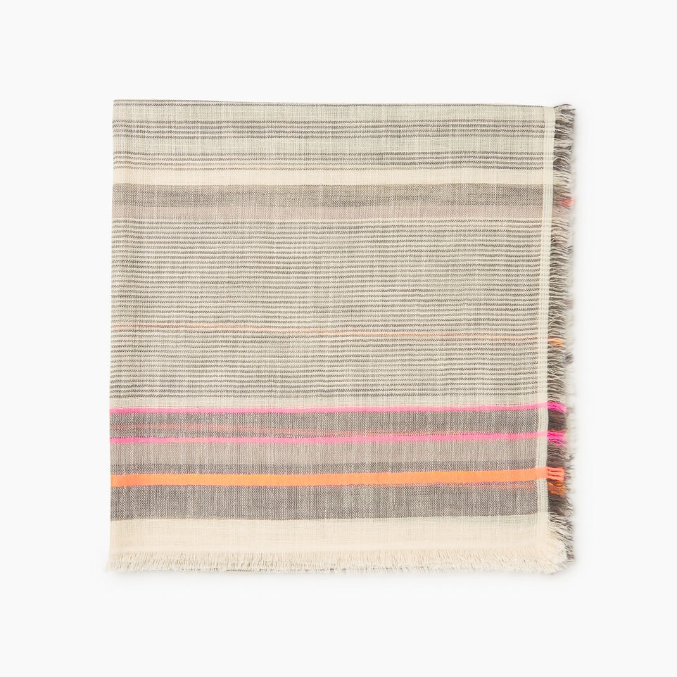 Roots-Women Our Favourite New Arrivals-Wasaga Scarf-Multi-A