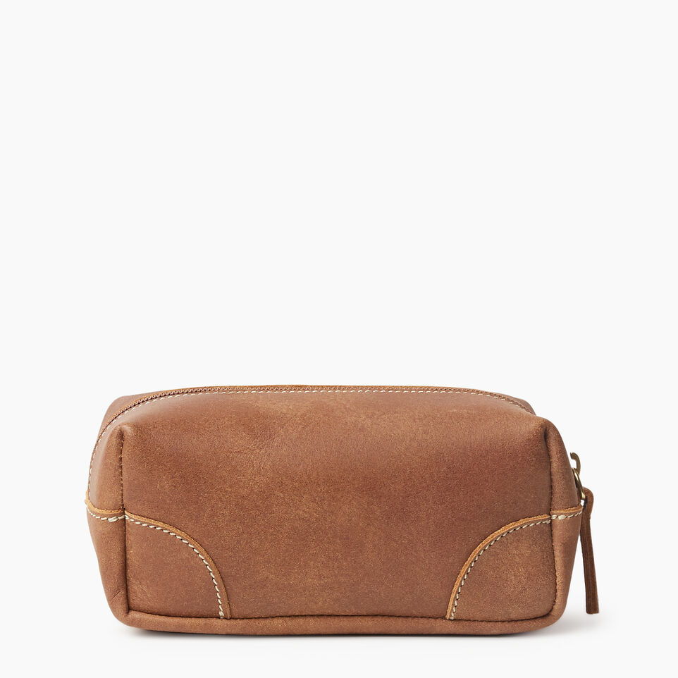 Roots-Leather New Arrivals-Small Banff Pouch Tribe-Natural-B