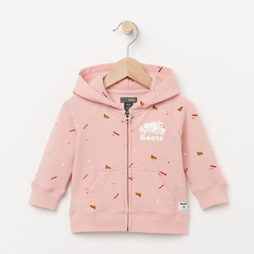 Roots-Baby Camp Kanga Hoody