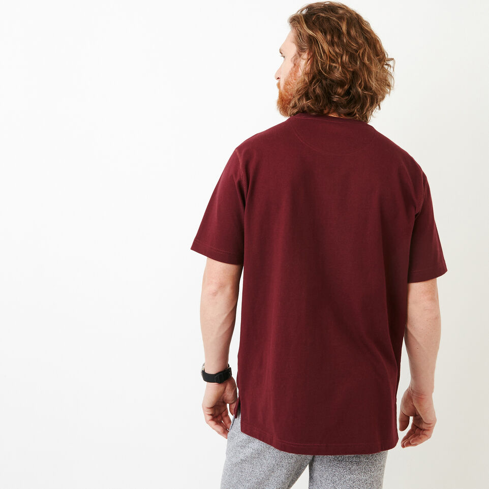 Roots-Men Categories-10oz Heavy Jersey T-shirt-Northern Red-D