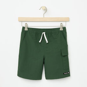 Roots-Sale Boys-Boys Nylon Camp Shorts-Camp Green-A