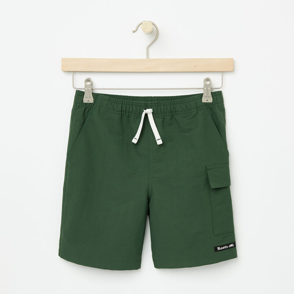 Roots-undefined-Boys Nylon Camp Shorts-undefined-A