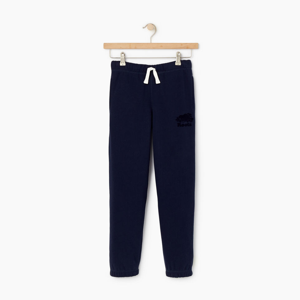 Roots-Kids New Arrivals-Boys Original Sweatpant-Navy Blazer-A