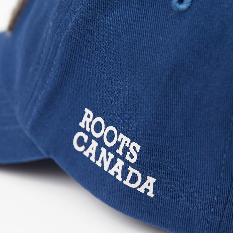 Roots-undefined-Kids Chenille Flag Baseball Cap-undefined-D