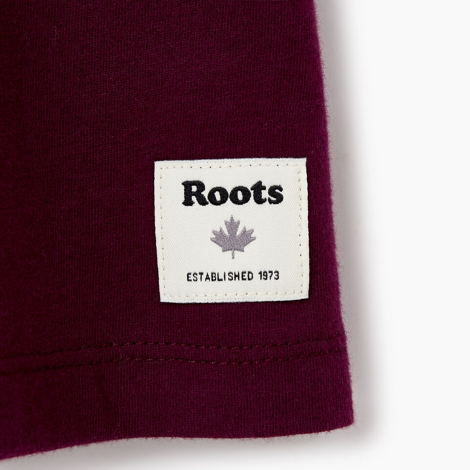 Roots-New For January Women-Womens Boyfriend Cooper Box T-shirt-Pickled Beet-C