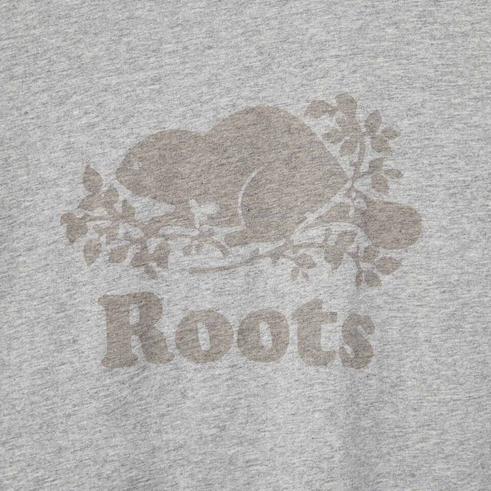Roots-Women Our Favourite New Arrivals-Womens Cooper Beaver T-shirt-Grey Mix-D