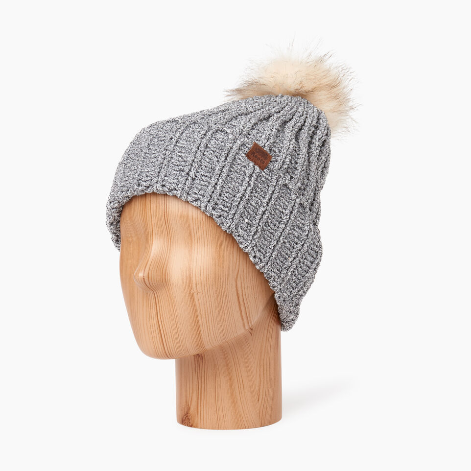Roots-undefined-Chenille Pom Pom Toque-undefined-B