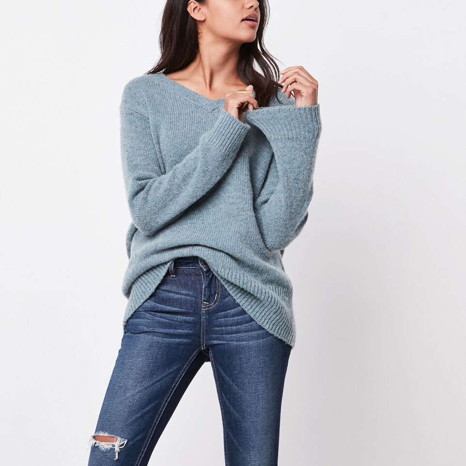 Roots-undefined-Emery V Neck Pullover-undefined-B