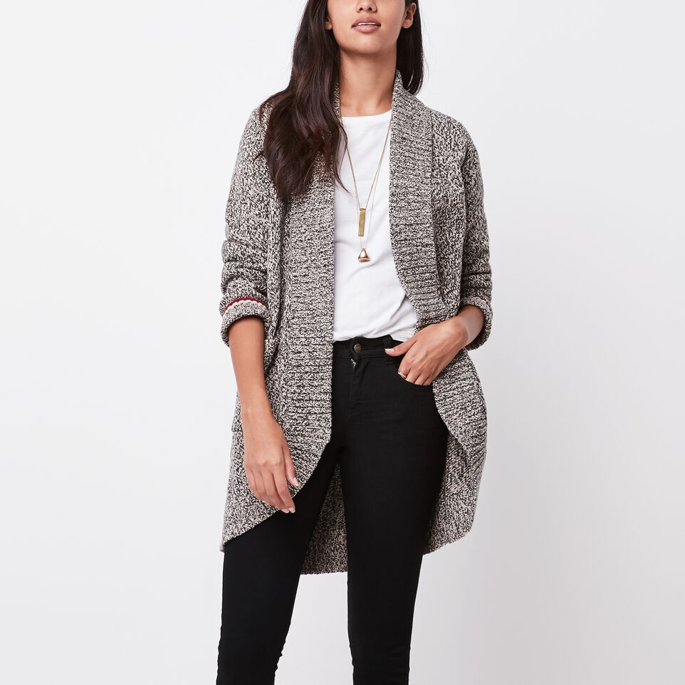 Cotton Cabin Sweater Cardigan | Roots