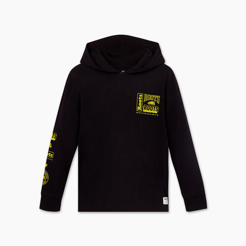 Roots-Kids Boys-Boys Stacked Jersey Hoody-Black-A