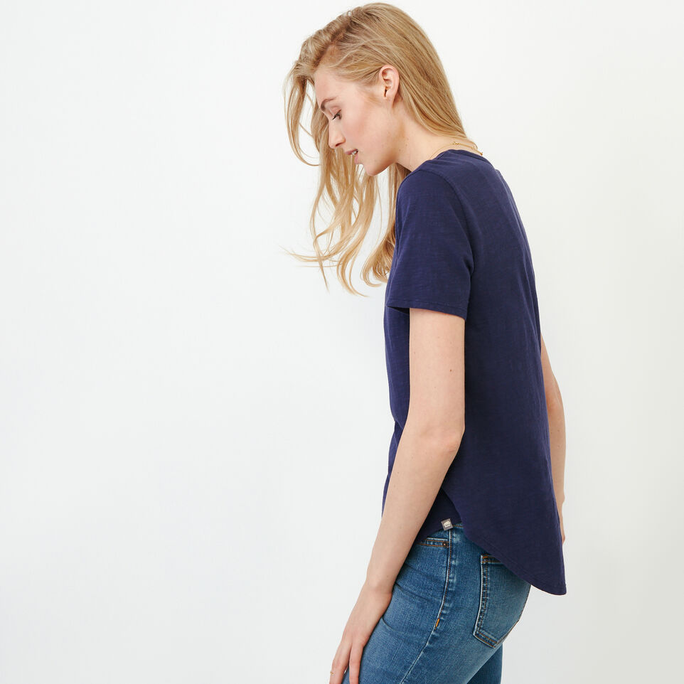 Roots-Women Our Favourite New Arrivals-Valetta Scoop Neck Top-Eclipse-C