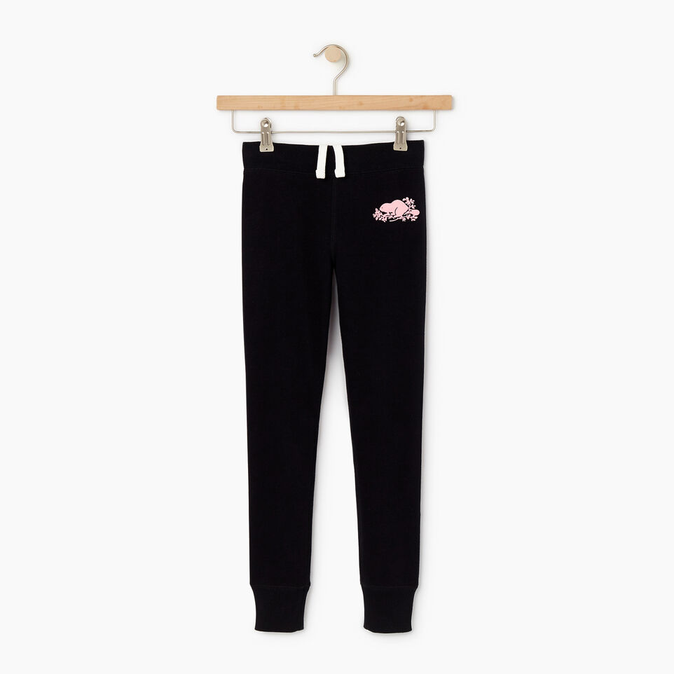 Roots-undefined-Girls Cozy Fleece Sweatpant-undefined-A