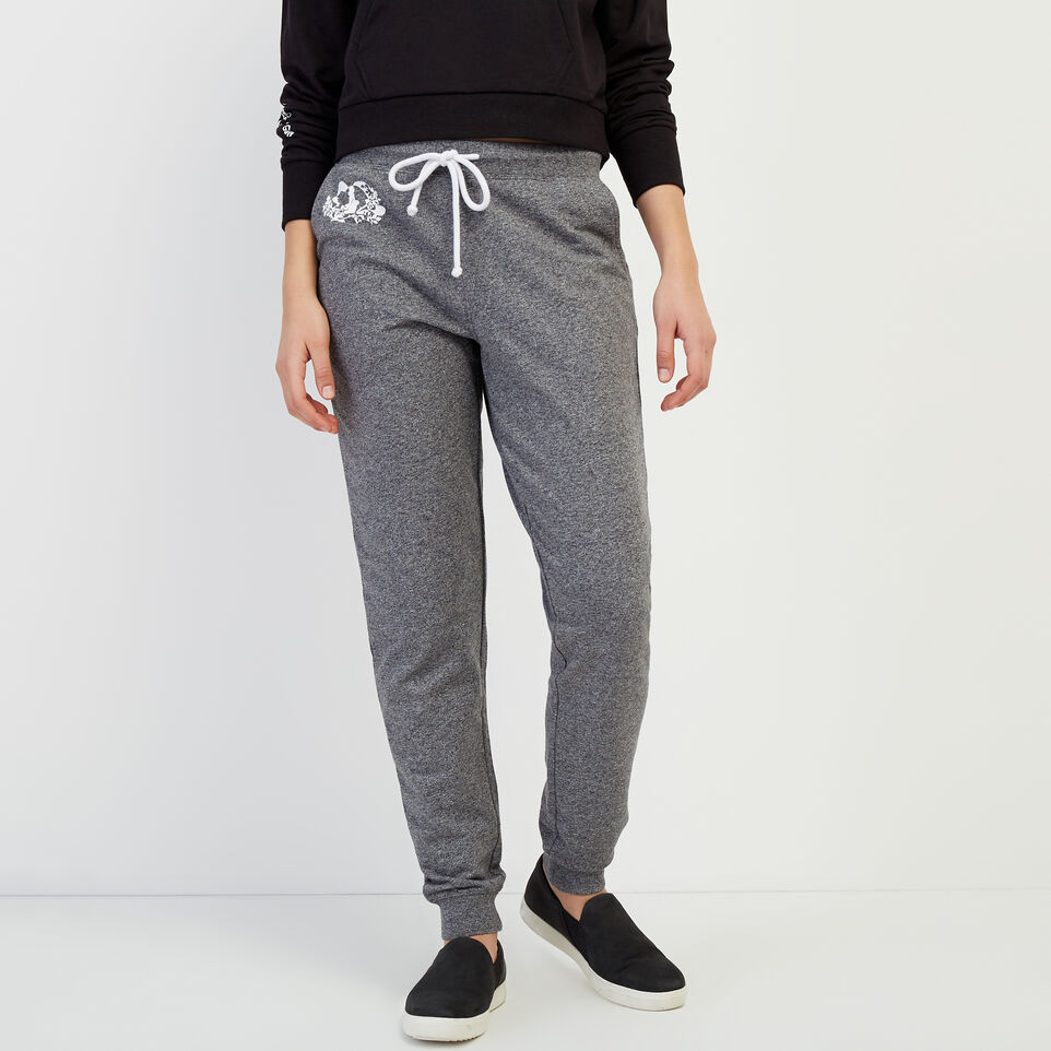 Roots-New For April Roots X Boy Meets Girl-Roots x Boy Meets Girl - Freedom Sweatpant-Salt & Pepper-A