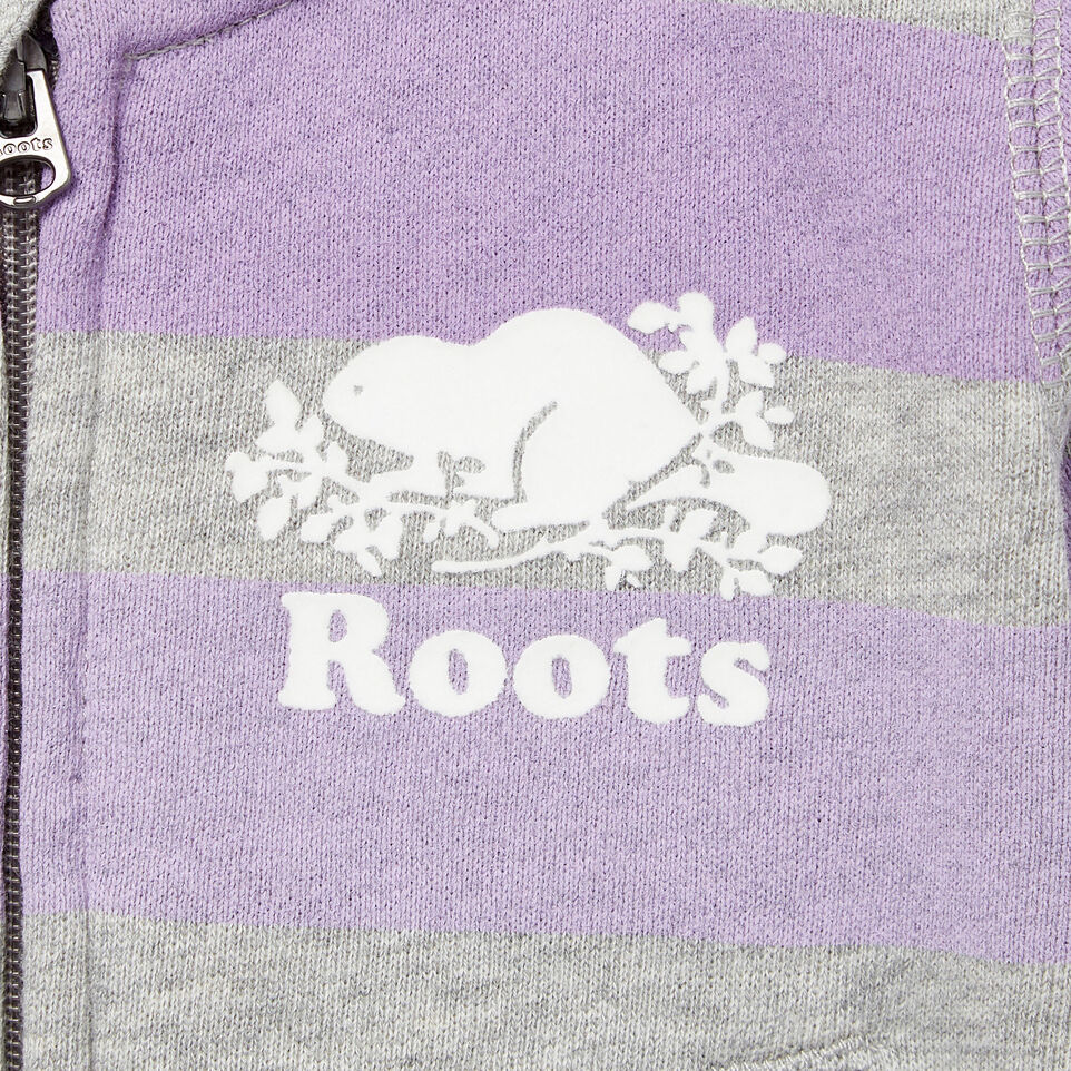 Roots-Kids Our Favourite New Arrivals-Baby Ombre Stripe Full Zip Hoody-Grey Mix-D