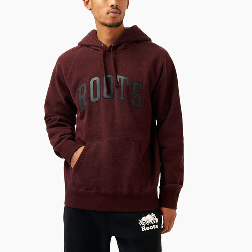 Roots-Winter Sale Men-Roots Arch Kanga Hoody-Crimson Mix-A