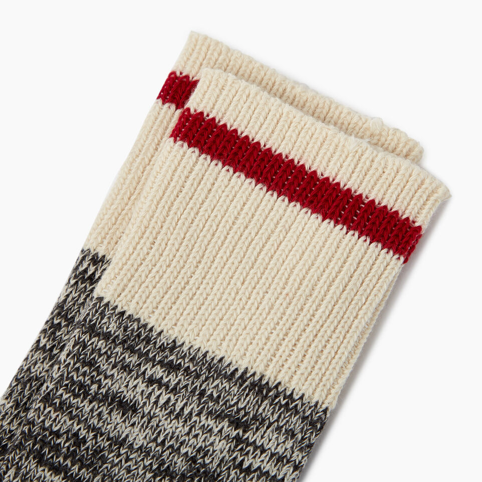 Roots-undefined-Mens Classic Cotton Cabin Sock 2 pack-undefined-B