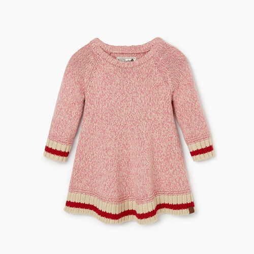 Roots-Clearance Baby-Baby Roots Cabin Dress-Cashmere Rose-A