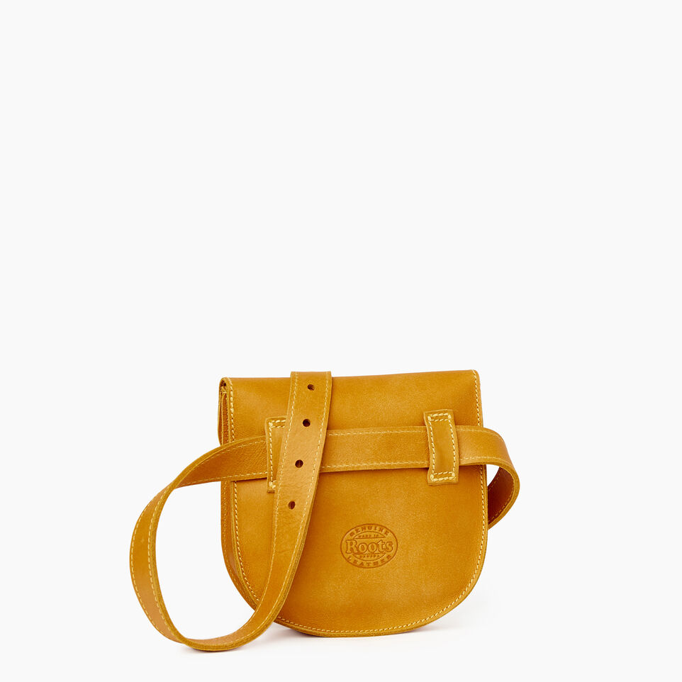 Roots-Leather  Handcrafted By Us Our Favourite New Arrivals-Lambert Belt Pack-Squash Yellow-C