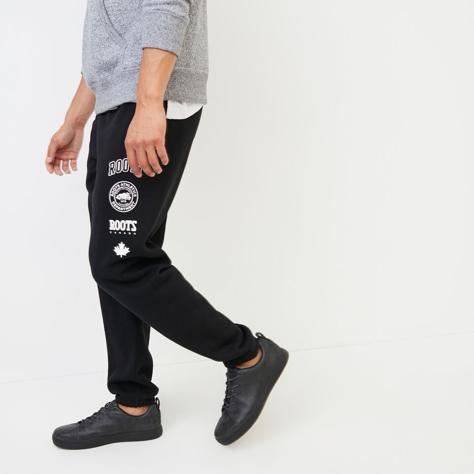 Roots-undefined-Stamps Slim Sweatpant-undefined-C