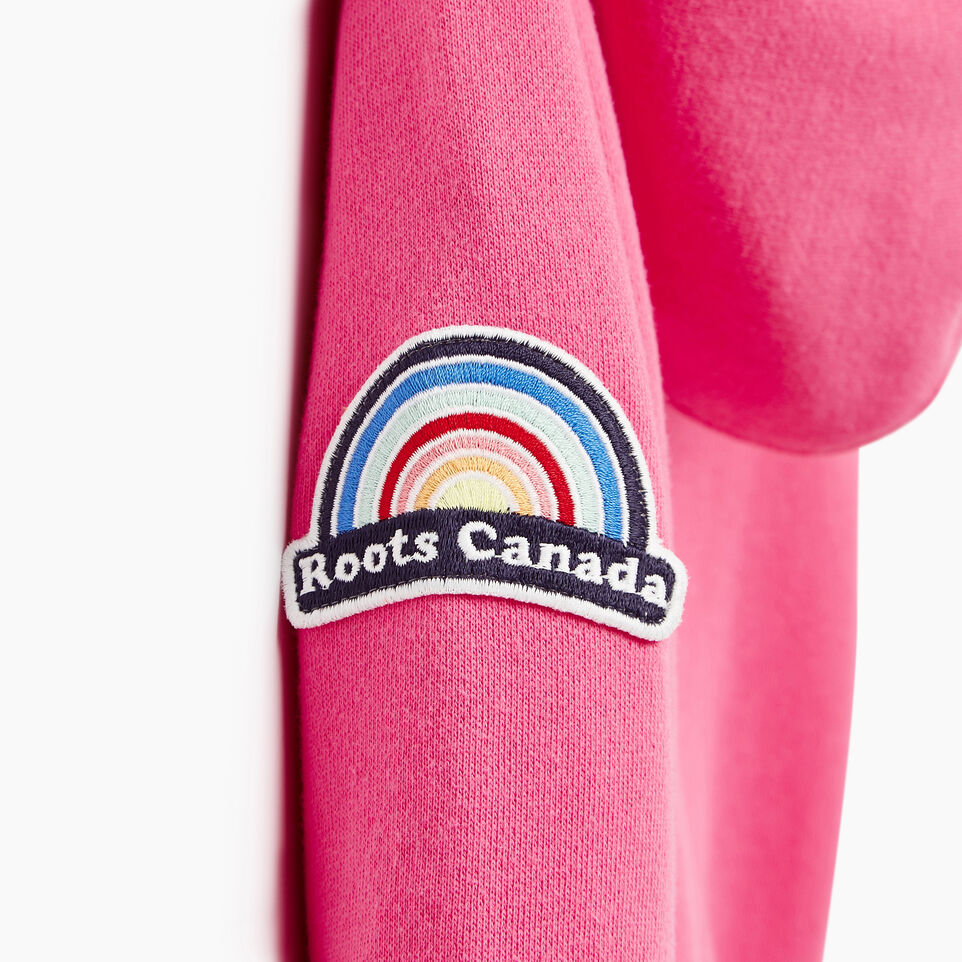 Roots-Kids Our Favourite New Arrivals-Toddler Patches Full Zip Hoody-Azalea Pink-E