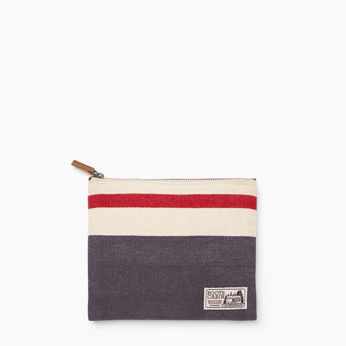 Roots-Women General Store-Roots Cabin Clutch-Salt & Pepper-A