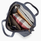 Roots-Leather Categories-Westmount Tote Tribe-Navy-D