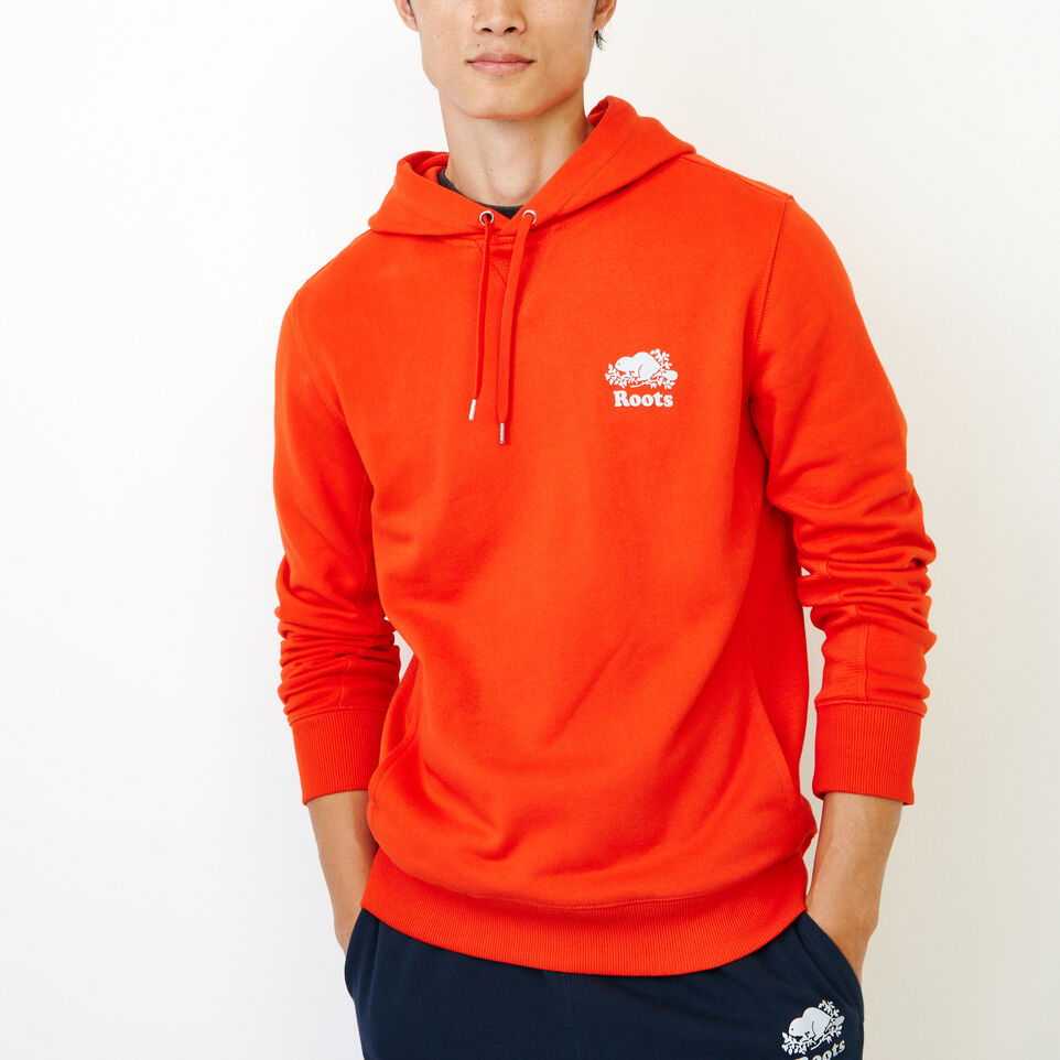 Roots-Men New Arrivals-Roots Breathe Hoody-Spicy Orange-A