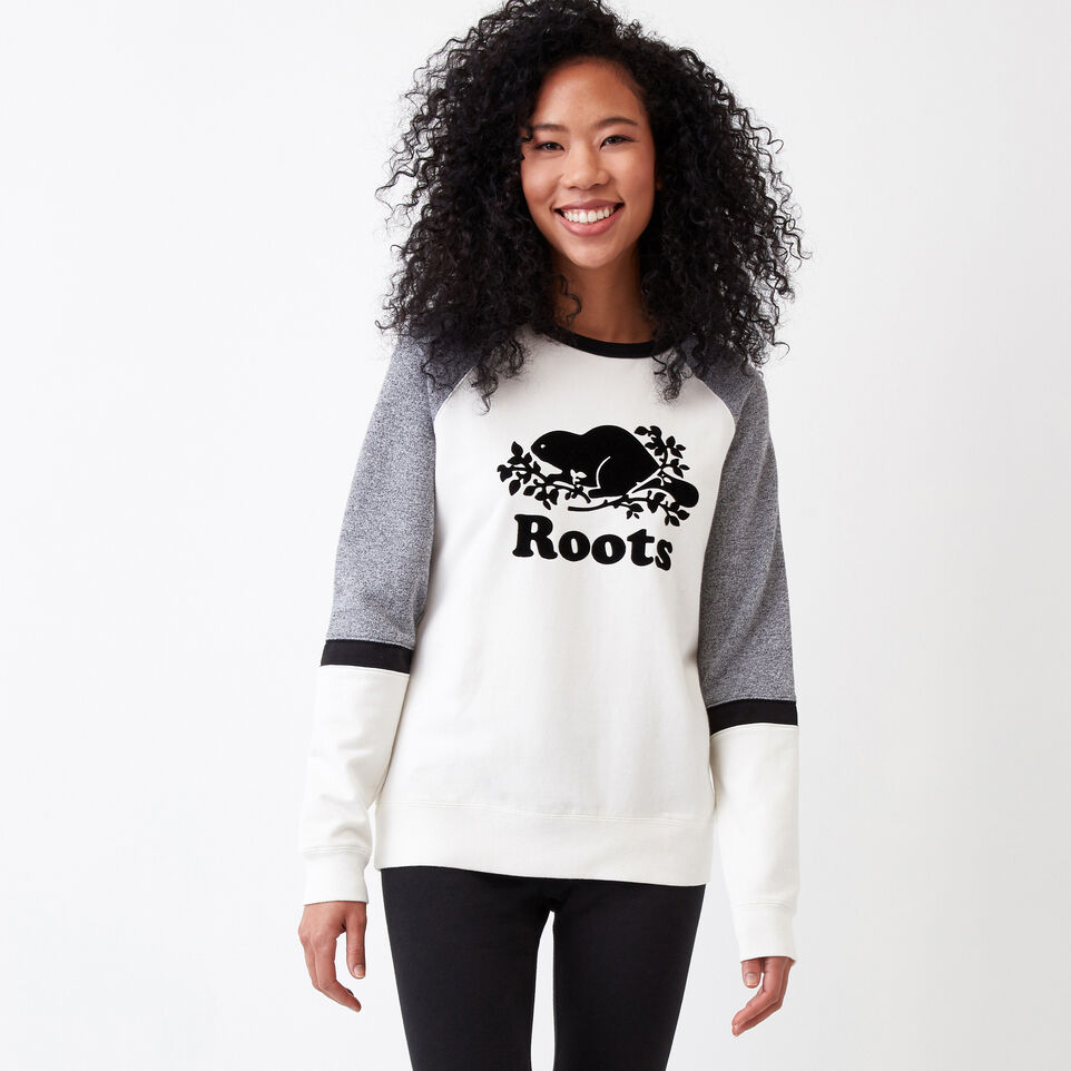 Roots-undefined-Cozy Colour Blocked Crew-undefined-D