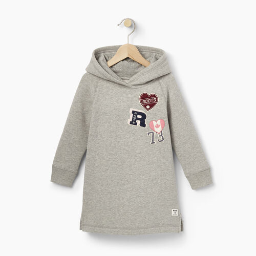 Roots-Winter Sale Toddler-Toddler Roots Patches Dress-Grey Mix-A