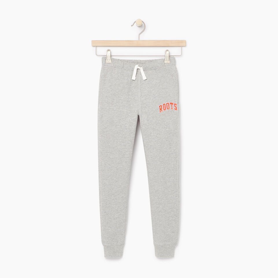 Roots-undefined-Girls Roots Varsity Sweatpant-undefined-A