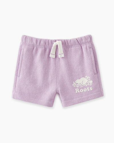 Roots-Sweats Baby-Baby Original Roots Short-Lupine Pepper-A