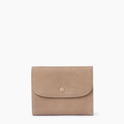 Roots-Leather  Handcrafted By Us Collections-Riverdale Wallet-Sand-A