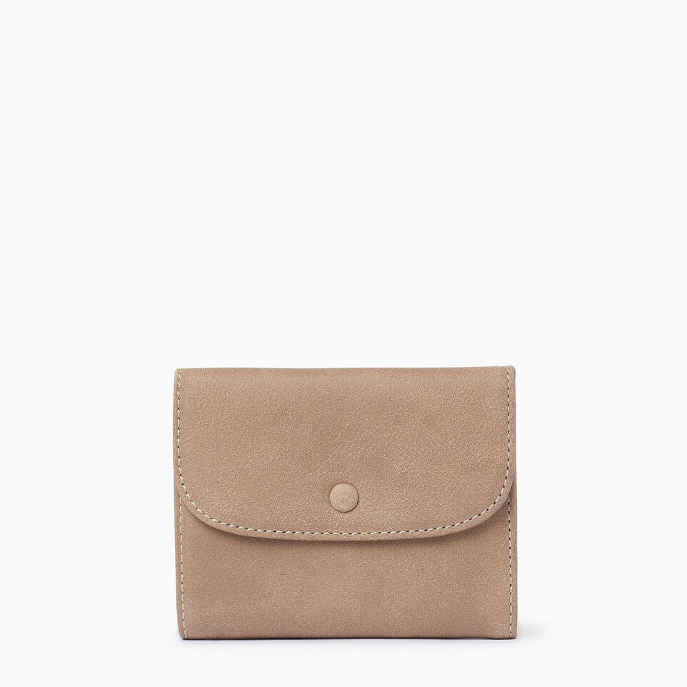 Roots-Leather  Handcrafted By Us Our Favourite New Arrivals-Riverdale Wallet-Sand-A