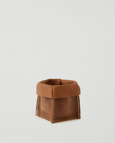 Roots-Leather Leather Accessories-Small Rollover Basket 2.0 Tribe-Natural-A