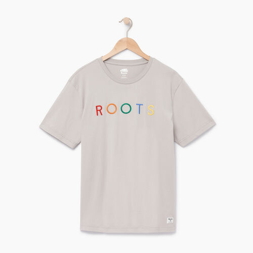 Roots-Men Our Favourite New Arrivals-Mens Spectrum T-shirt-Opal Gray-A