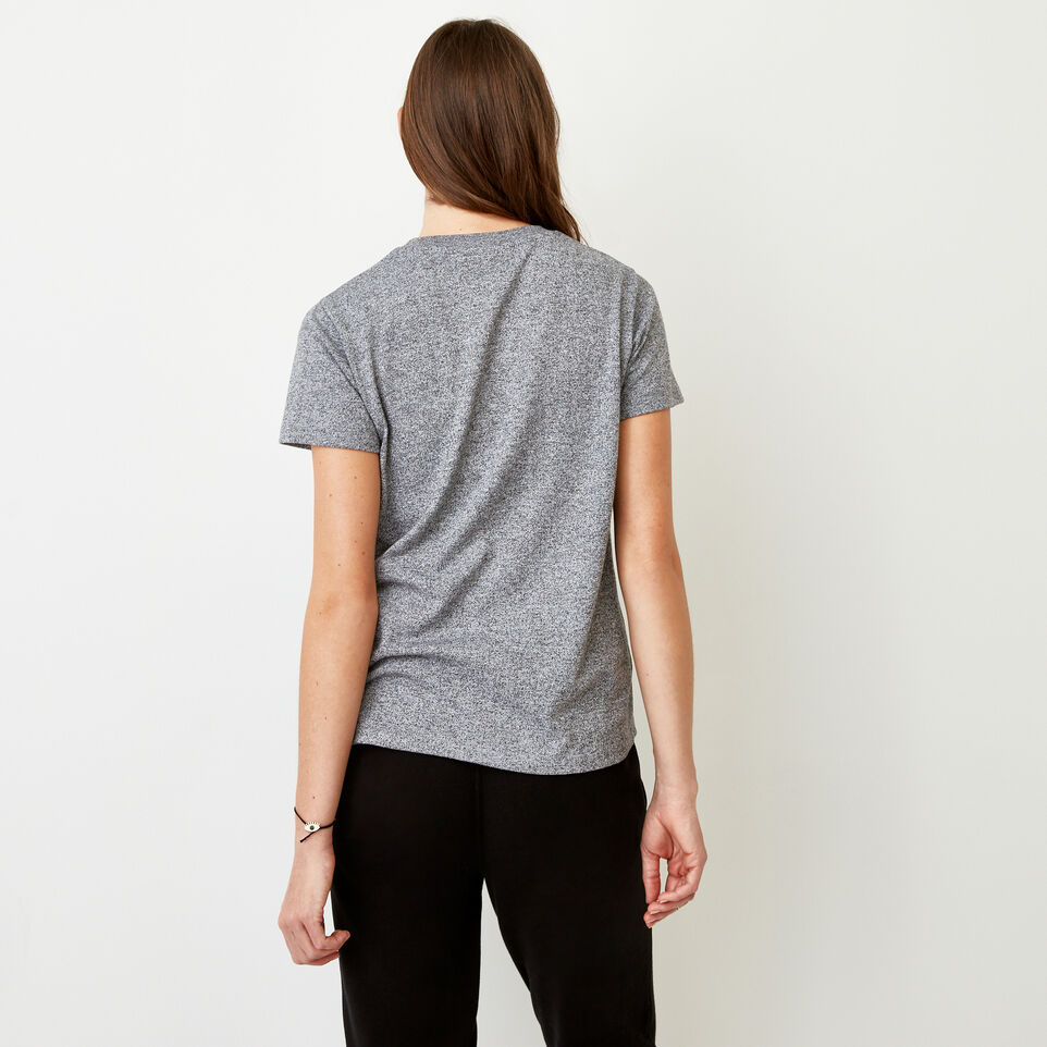 Roots-undefined-Perfect Peppered T-shirt-undefined-D