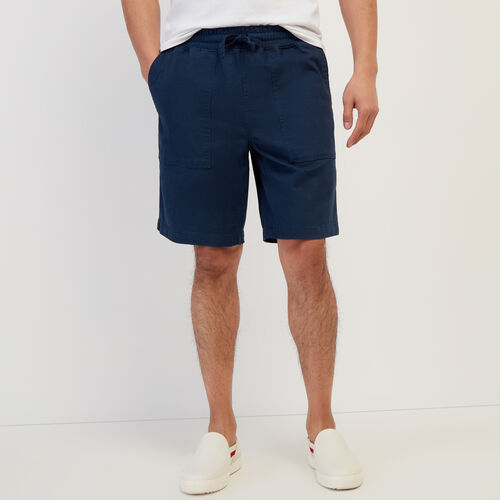 Roots-New For April Journey Collection-Journey Short-Cascade Blue-A