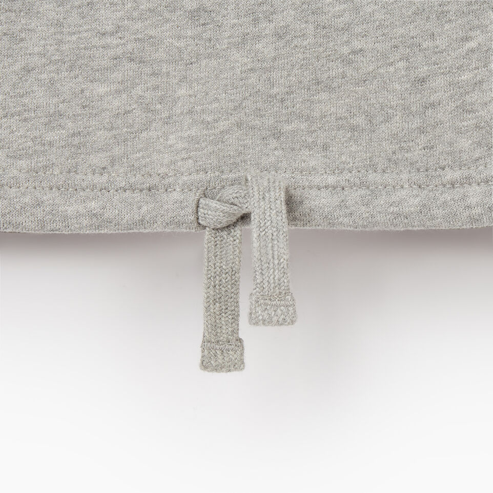 Roots-Kids Our Favourite New Arrivals-Girls 2.0 Colour block Raglan Hoody-Grey Mix-E