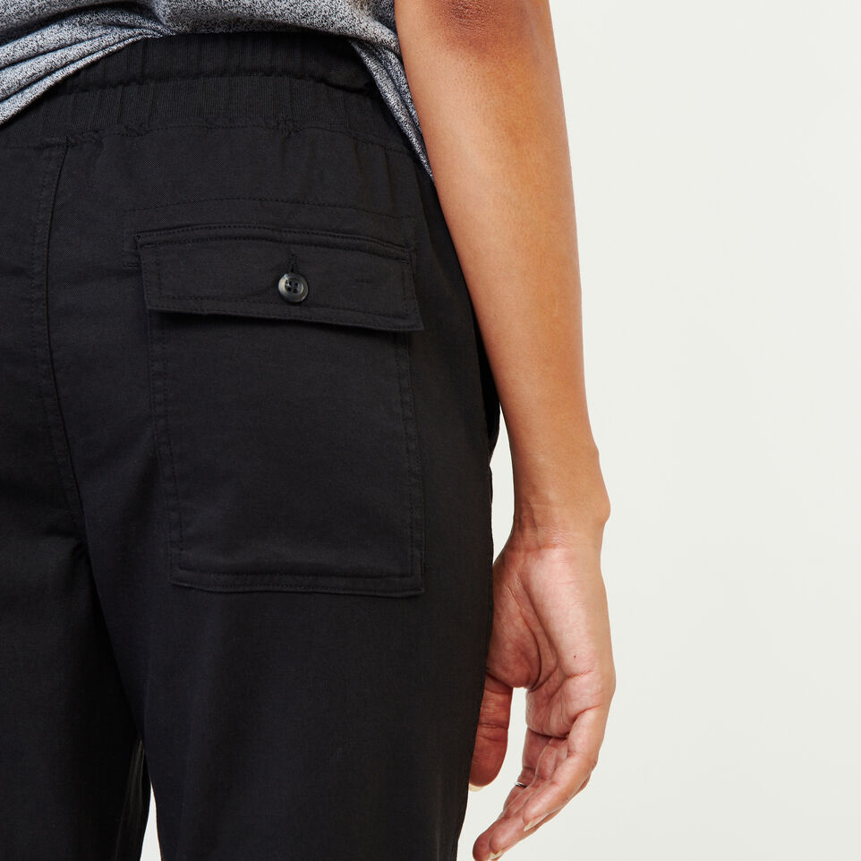 Roots-Women Our Favourite New Arrivals-Essential Jogger-Black-E