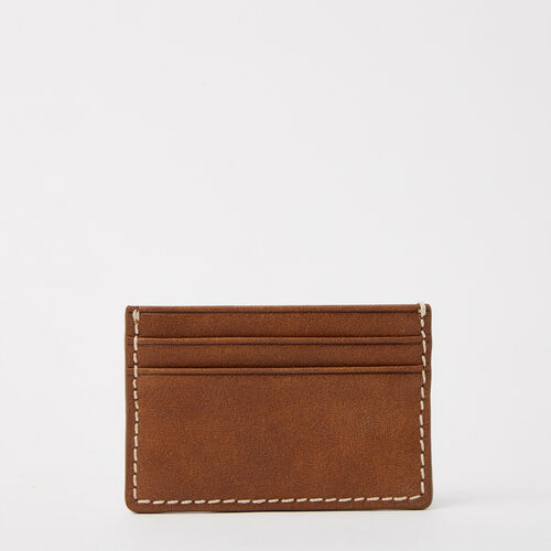 Roots-Leather Women's Wallets-Business Card Holder Tribe-Africa-G