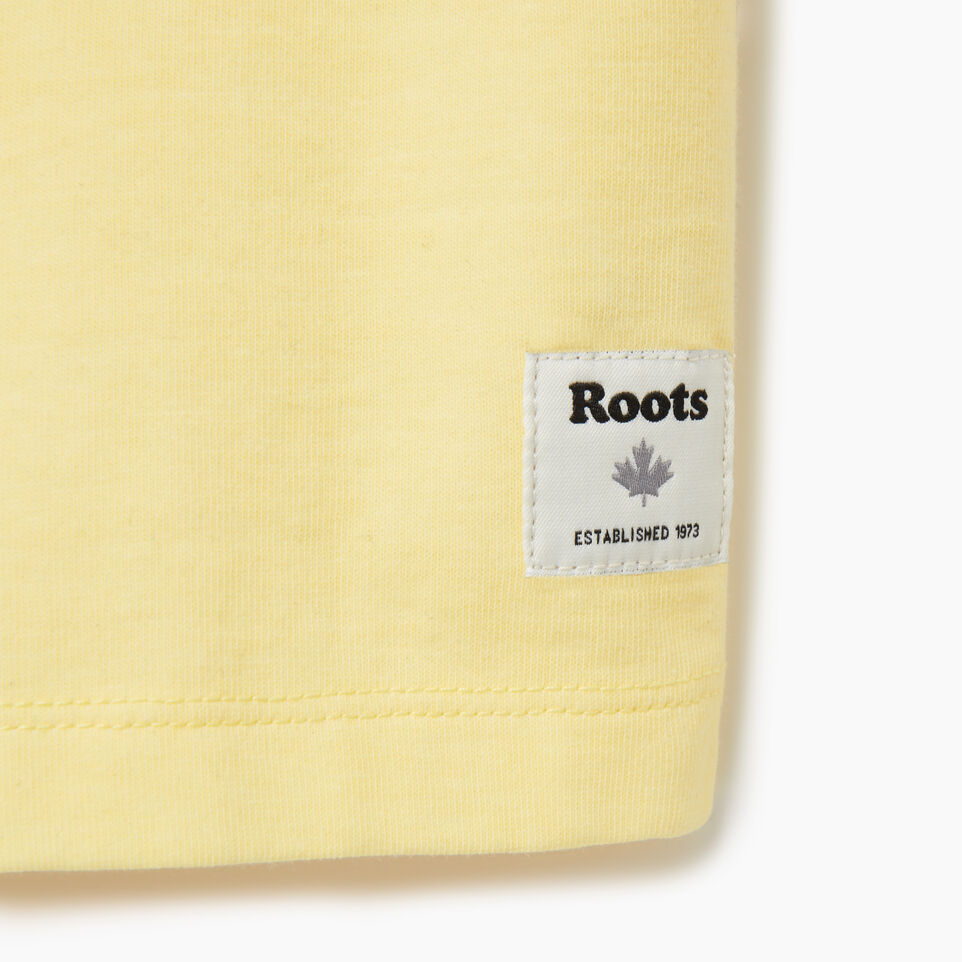 Roots-undefined-Womens Panel T-shirt-undefined-D