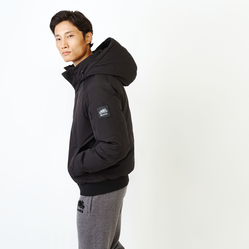 Roots-Men Our Favourite New Arrivals-Tobermory Down Jacket-Black-C
