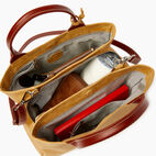 Roots-Leather  Handcrafted By Us Categories-Mont Royal Bag-Medallion/oak-D