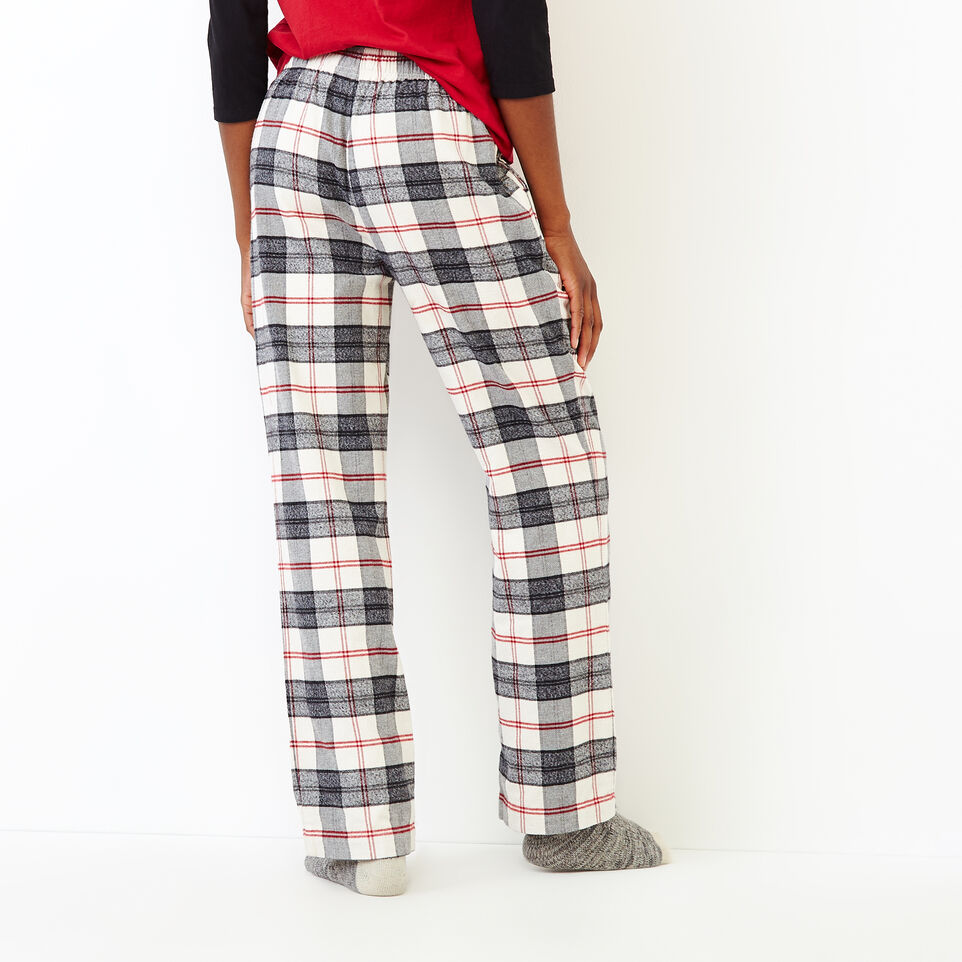 Roots-New For September Today Only: 40% Off Park Plaid Collection-Inglenook Lounge Pant-Birch White-D