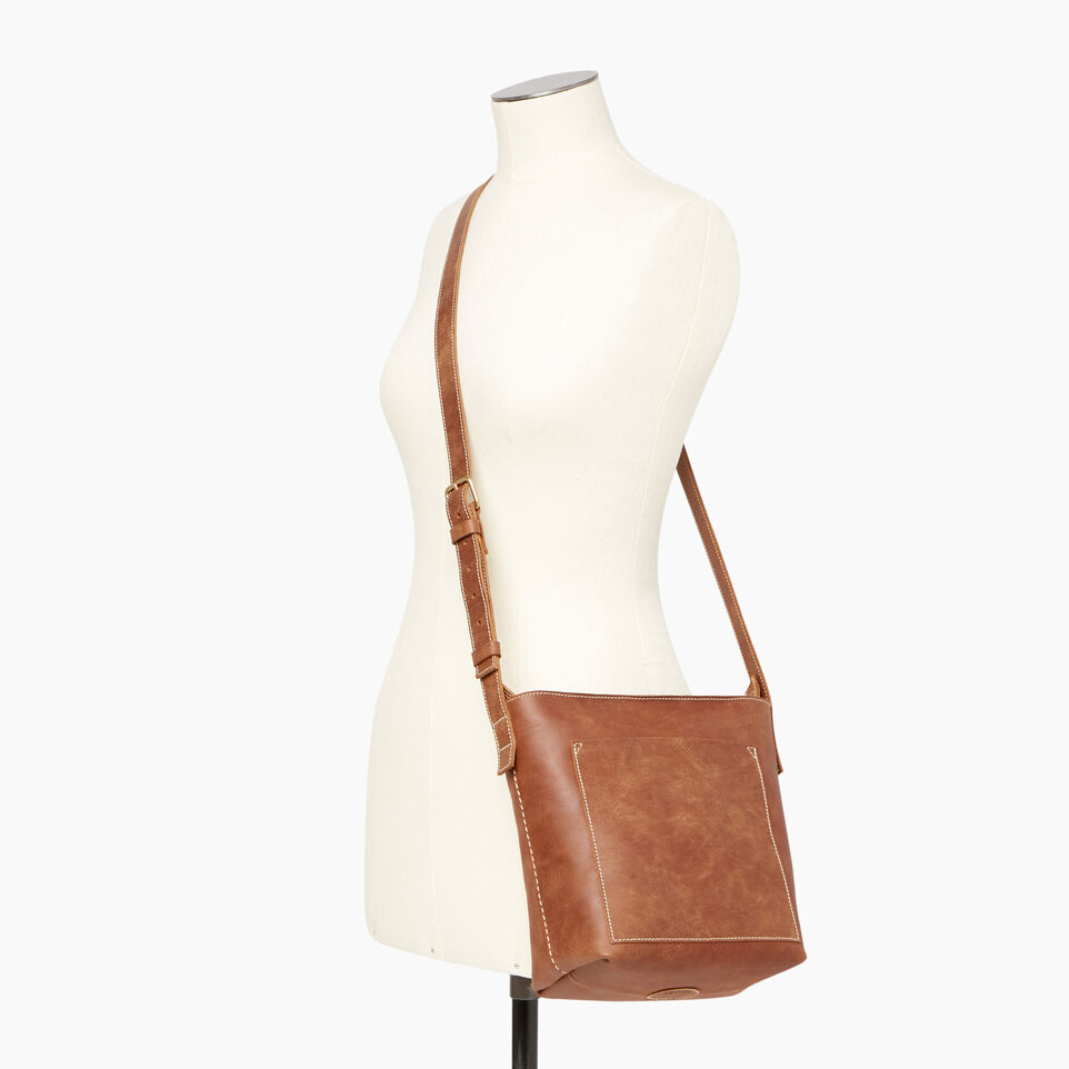 Roots-Leather Our Favourite New Arrivals-Rideau Crossbody-Natural-B