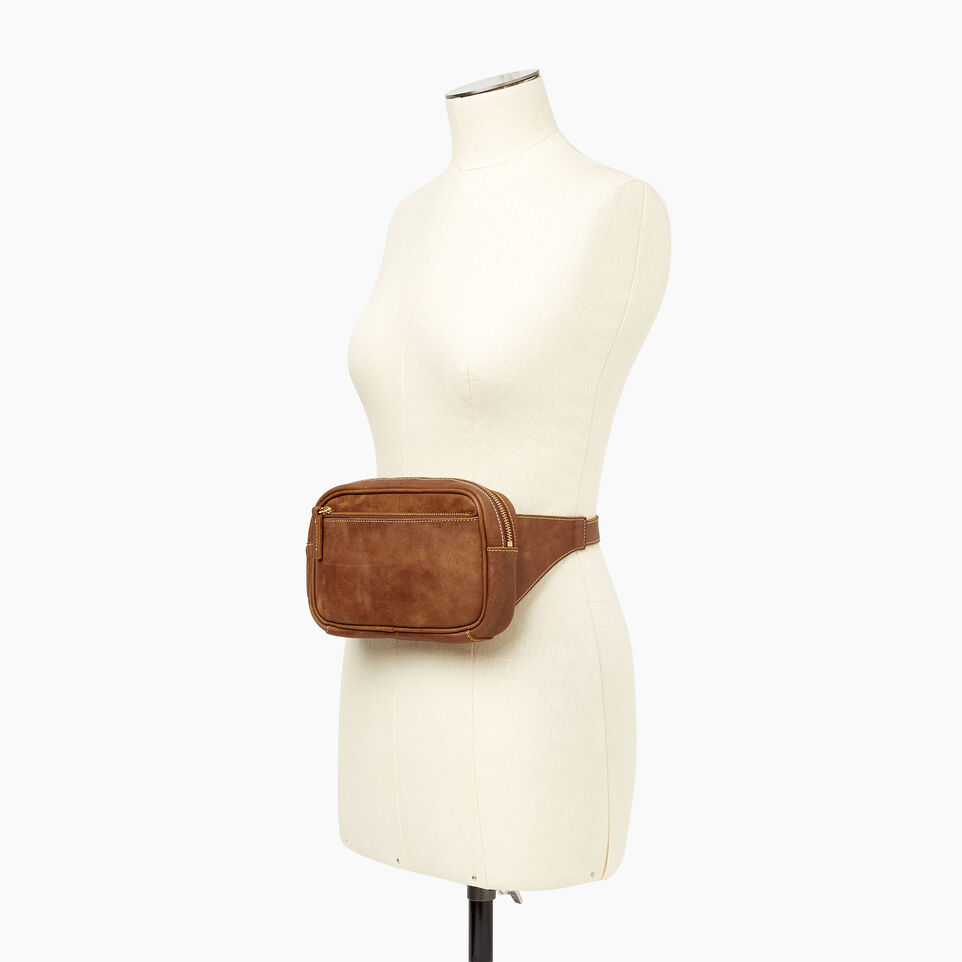 Roots-Leather  Handcrafted By Us Our Favourite New Arrivals-Roots Belt Bag-Natural-B