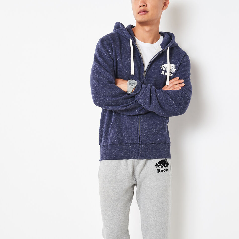 Roots-undefined-3 On 3 Space Dyed Zip Hoody-undefined-A