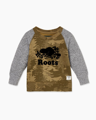 Roots-Sale Baby-Baby Outdoors Crew Sweatshirt-Multi-A