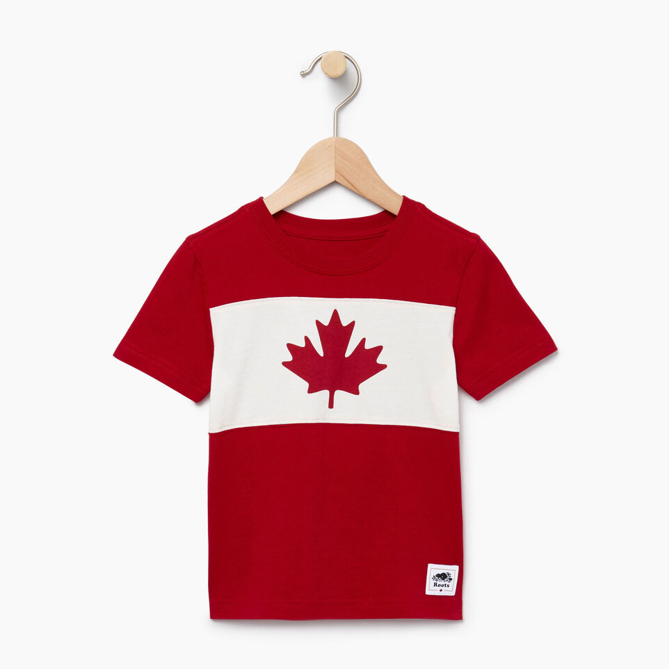 Roots-undefined-Toddler Blazon T-shirt-undefined-A